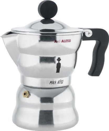 Alessi Alessandro Mendini Moka Espresso Coffee Maker 3 Cup
