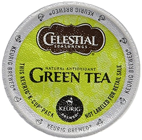 Celestial Seasonings Authentic Green Tea K-Cup Portion Pack for Keurig K-Cup Brewers 24-Count