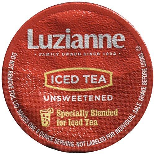 Luzianne Unsweet Iced Tea Keurig K-Cups 72 Count