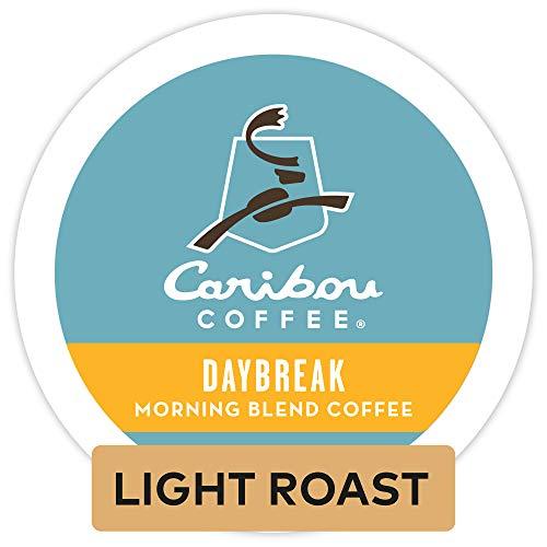 Caribou Coffee Daybreak Morning Blend Single Serve Coffee K-Cup Pod Light Roast 24