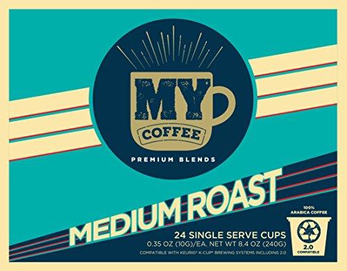 My Coffee Single Serve Coffee Pods Medium Roast 100 Count