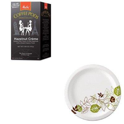 KITDXEUX9WSPKMLA75410 - Value Kit - Melitta Coffee Pods MLA75410 and Dixie Pathways Mediumweight Paper Plates DXEUX9WSPK