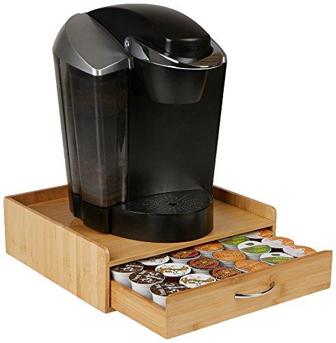 Mind Reader Keurig K-Cup Coffee Pod Storage Drawer Holds 36 K-Cup Pods Brown