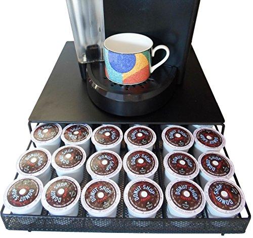 Neat-O Coffee Pod Storage Drawer Holder for 36 Keurig K-Cup Black