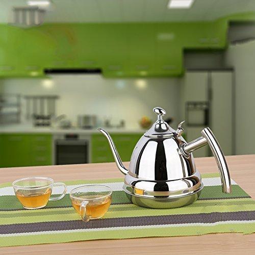 POTOLON drip kettle coffee drip pot stainless steel 12L