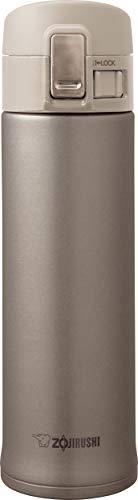 Zojirushi Insulated Travel MugVacuum Flask Stainless Steel Champagne 480 ml