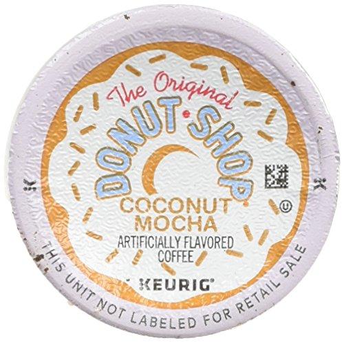 The Original Donut Shop Coconut Mocha Keurig Single-Serve K-Cup Pods Medium Roast Coffee 24 Count