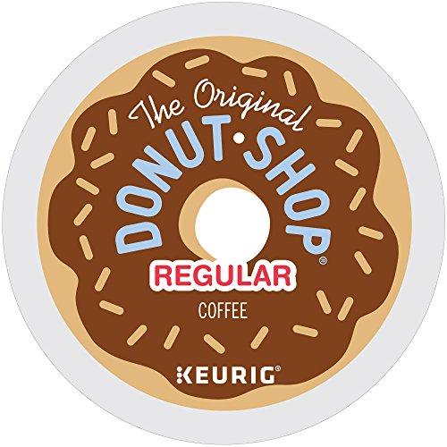 The Original Donut Shop Regular Keurig Single-Serve K-Cup Pods Medium Roast Coffee 12 count Pack of 6