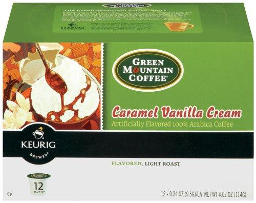 Green Mountain Coffee K-Cup Caramel Vanilla Cream 12-Count