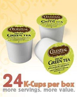 Celestial Seasonings DECAF Green Tea for Keurig Brewing Systems 96 K-Cups