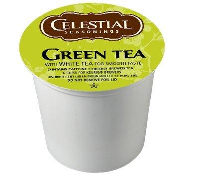 Celestial Seasonings Green Tea for Keurig Brewing Systems 24 K-Cups 3 Pack
