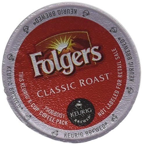 Folgers Gourmet Selections Classic Roast CoffeeMeduim Roast Keurig K-Cups 24 Count Pack of 4