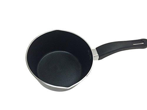 1 Quart Saucepan With Spout Non Stick Aluminum Sauce Pan And Pots Drawing Cooking Pan Sauce Gravy Tomato Sauce Nonstick Pan A007
