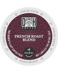 Diedrich Coffee French Roast Blend Single Serve Coffee K-Cups 48-Count For Brewers