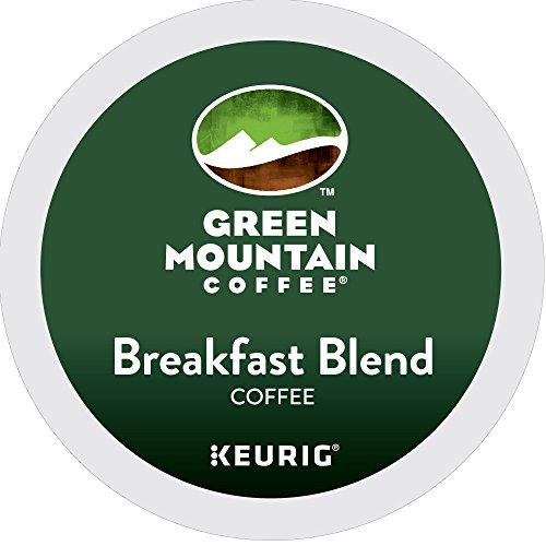 Green Mountain Coffee Breakfast Blend Single-Serve Keurig K-Cup Pods Light Roast Coffee 12 Count