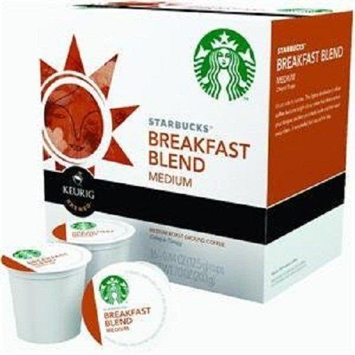 Starbucks Breakfast Blend K-Cup for Keurig Brewers 16 Count