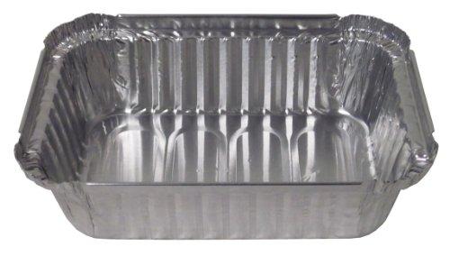 Durable Packaging 24530500 Aluminum Oblong Deep Pan 1-12 lb Pack of 500