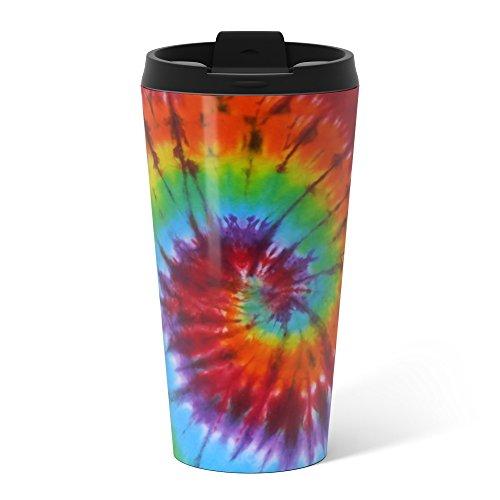 Society6 Tie Dye 004 Metal Travel Mug 15 oz