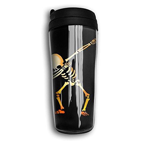 Dabbing Skeleton Portable Tea Cups