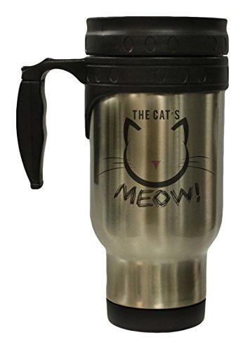 The Cats Meow 12 oz Hot Cold Travel Mug