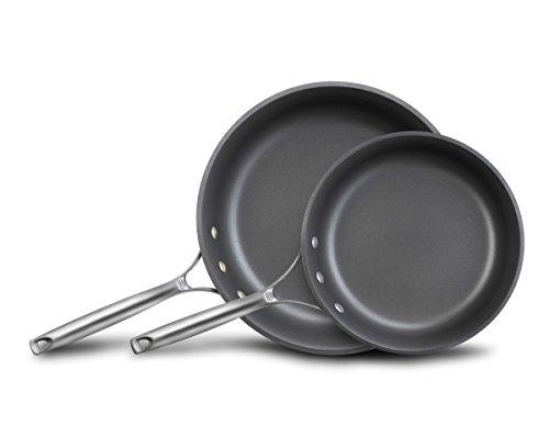 Calphalon Unison Nonstick Slide Surface Omelette Fry Pan 10 and 12 Black