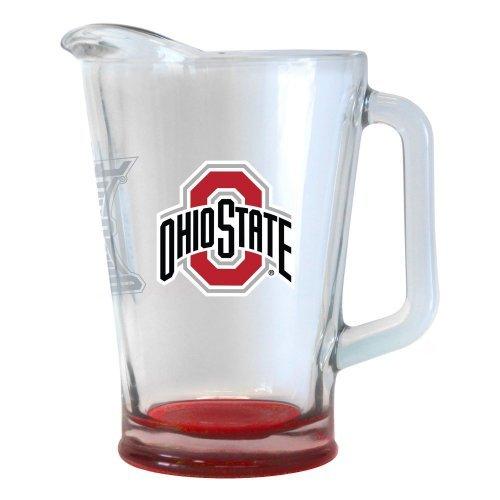 NCAA Ohio State - Elite Beer Pitcher  OSU Buckeyes 60 oz Glass Pitcher