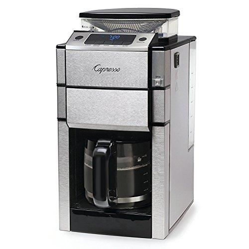 Capresso 48705 Team Pro Plus Glass Carafe Coffee Maker Silver
