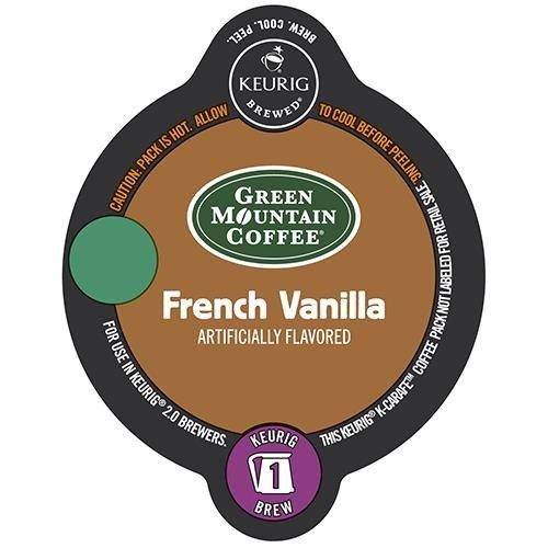 Keurig 20 Green Mountain French Vanilla  K-Carafe Packs 8