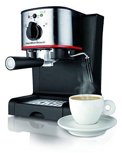 Hamilton Beach 40792 Espresso Cappuccino Maker Black