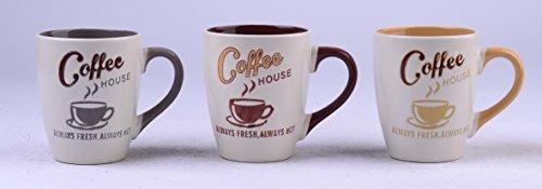 6906 Uniware 1185 Oz Stoneware Mug Set of 3 Pc