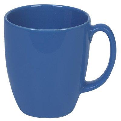 Corelle Livingware 11-Oz Dark Blue Stoneware Mug Set of 4