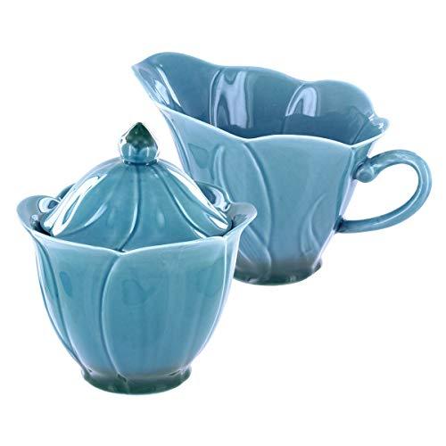 Callaway Porcelain Sugar Bowl Creamer Set