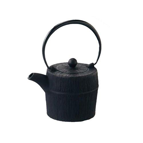 Japanese Iron Kettle Iron Tea Pot Nambu Tekki 152floz ColorBlack