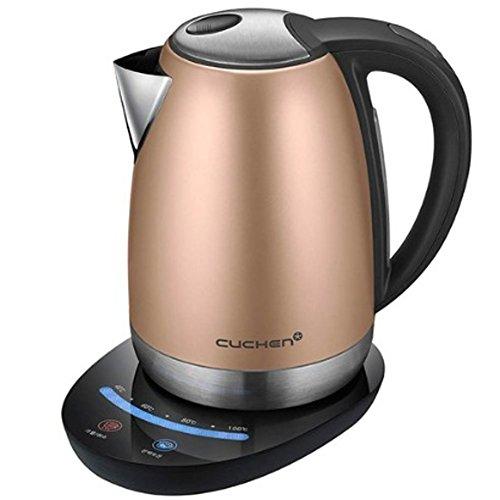 Cuchen Electric Kettle CKT-C1704RM Cordless Tea Coffee Kettle Hot Water Pot 17L Rose Gold 220~240V