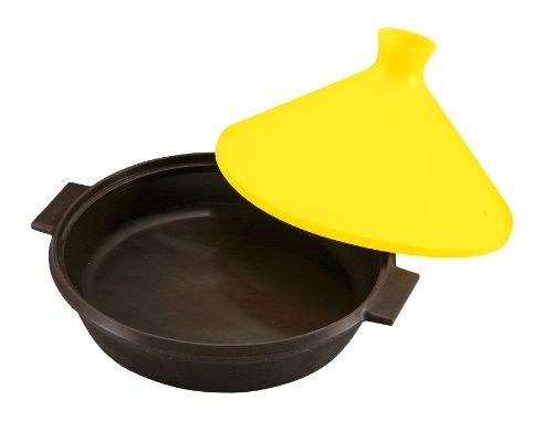 Pearl H B silicone range Fast tagine pot 22cm yellow C-9233 japan import