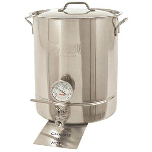 BARBOUR INTERNATIONAL 800-464  16 Gal SS Standard 4 pc Brew Kettle Set