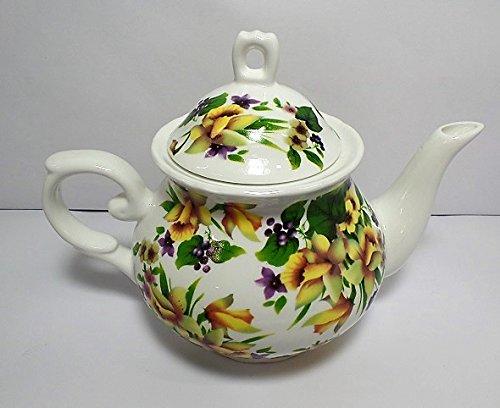 Summer Garden Teapot