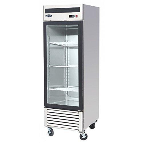 Atosa USA MCF8701 Series 27-Inch Glass Single Door Merchandiser Upright Freezer