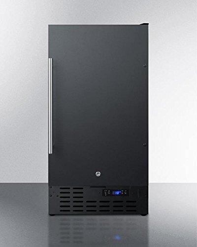 Summit SCFF1842ADA Upright Freezer Black