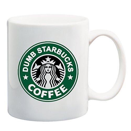 Nathan For You Dumb Starbucks Coffee Mug by BeeGeeTees 11 oz
