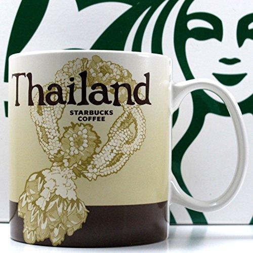 Thailand Starbucks City Mug Global Series Collector Coffee Tea 16 Oz New
