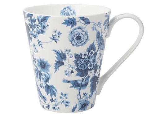 Creative Tops V&A Garden Birds White Fine Bone China Coffee Mug in Box