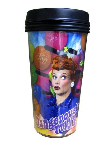 I Love Lucy Plastic Travel Coffee Mug