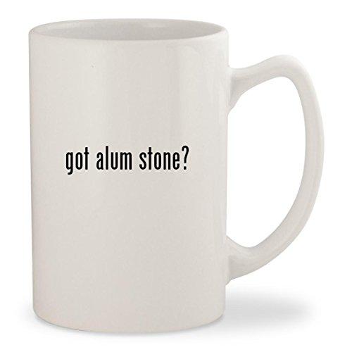 got alum stone - White 14oz Ceramic Statesman Coffee Mug Cup