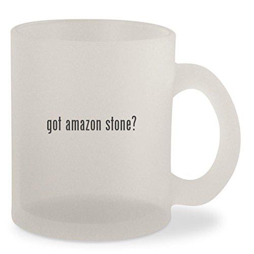 got amazon stone - Frosted 10oz Glass Coffee Cup Mug