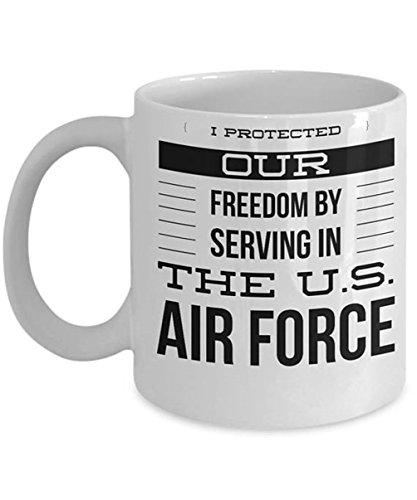 Air Force Coffee Mug - Air Force Veteran - Airman Gifts - Gifts For Airman