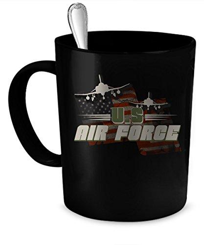US Air Force Coffee Mug 11 oz US Air Force funny gift 11 oz black