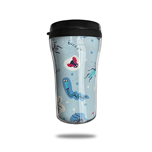Spider Net Stainless Steel Vacuum Stay Hot Leak Proof Cute Stylish Coffee Cup Car Mug Travel Cup With Lids Small For Office Hiking