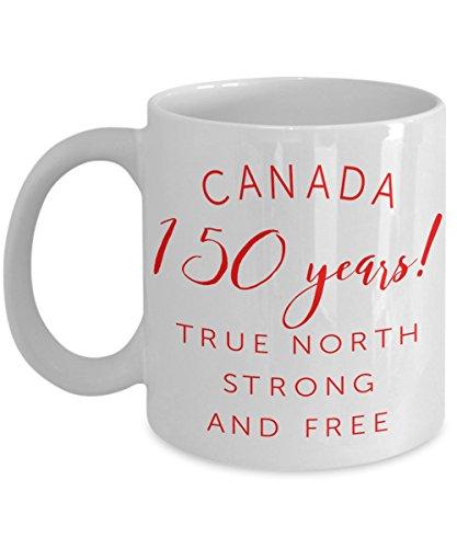 Canada Coffee Mug - Canada 150 - Canada Birthday - Canadian Mug - Maple Leaf - Gift For Her - Gift For Him - White Mug - Great White North - Under 20