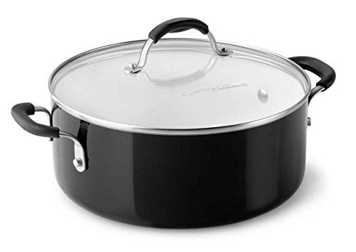 Calphalon Ceramic Nonstick Cookware Chili Pot 5 quart Black